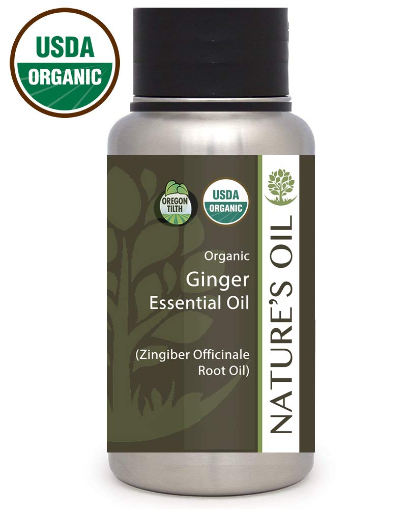 Best Ginger Essential Oil Pure Certified Organic Therapeutic Grade 1Lb
