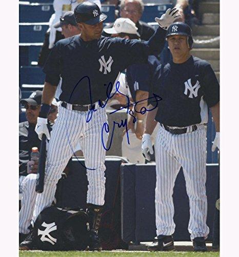 - Billy Crystal Yankee NYC Baseball w Derek Jeter Signed 11x14 Photo AFTAL UACC RD - Autographed MLB Photos