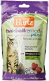 Hartz Hairball Remedy Plus Soft Chews for Cats, 3oz