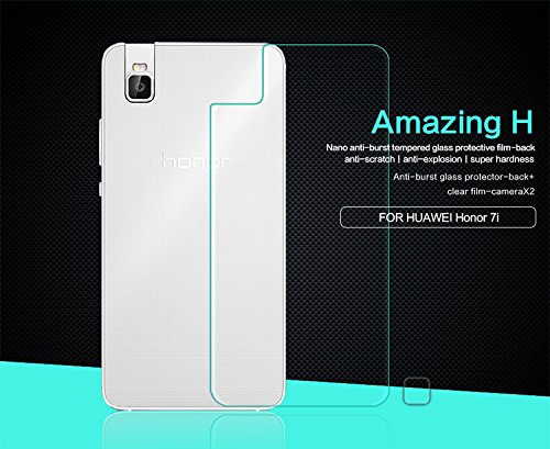 Nillkin Screen Protector for Huawei Honor 7i - Retail Packaging - H Anti Transparent BACK by Nillkin