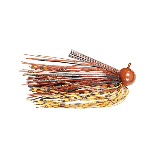 Pepper Custom Baits Pro Series Football Jig, 3/4-Ounce, Natural Craw -
