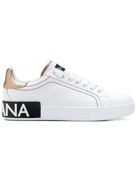 Amazon Sneakers Pelle Dolce Gabbana amp; Ck1587ah52789662 Donna Bianco xUnxA6Rgqw