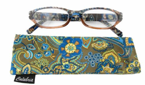 4377 reading glasses w floral