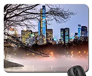 Autumn in New York Mouse Pad, Mousepad (Skyscrapers Mouse Pad)
