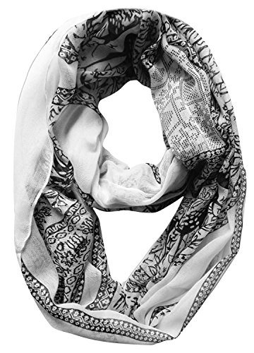 Peach-Couture-Luxury-Animal-Print-Loop-Sheer-Infinity-Scarf-Wrap-Circle-Scarf