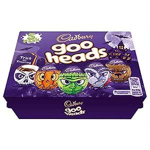 Cadbury Halloween 5 Goo Head Cream Eggs 200g