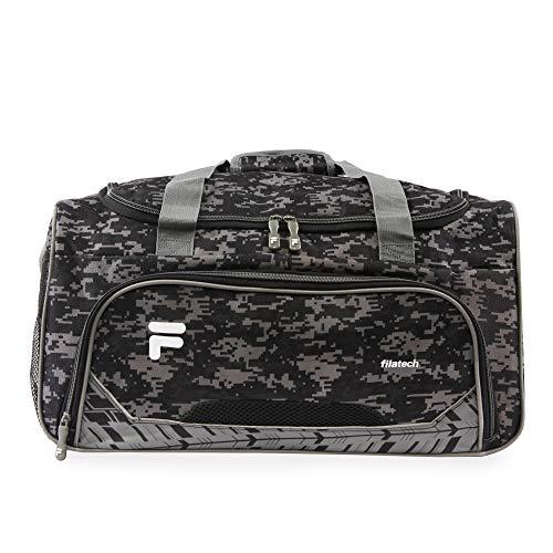 51ngJaL6%2BgL - Fila Source Sm Travel Gym Sport Duffel Bag, Black Digi Camo