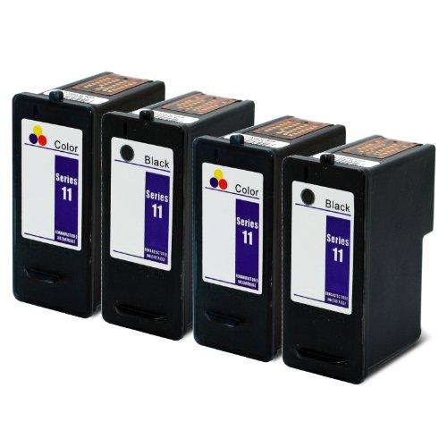 4 Pack Remanufactured Hi Yield JP451 Printer