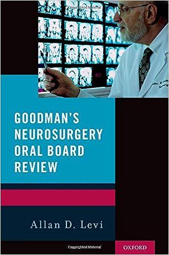 Goodman's Neurosurgery Oral Board Review: Allan Levi