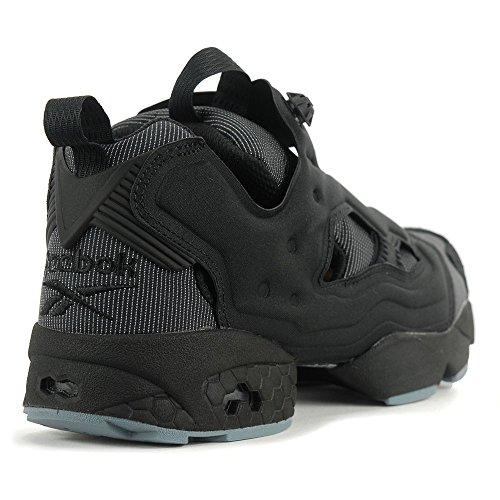 Reebok Hombres Instapump Fury Mtp Negro / Stonewash Zapatos Bd1502