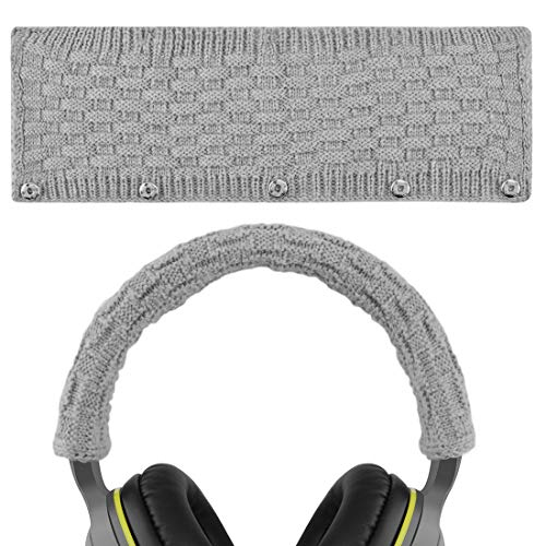 Headphone Headband For Bose, AKG, Sennheiser, Sony, Beats, Audio-Technica Replacement Headband Cover / Comfort Cushion / Top Pad Protector (Gray)