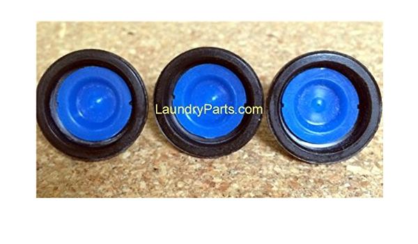 Huebsch # 823492 Wascomat 25 Pcs 25x Blue Tip Diaphragm for Elbi Water Valve