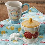 The Pioneer Woman Blossom Jubilee Creamer and Sugar Pot Set