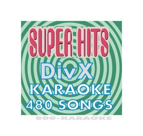 Super Hits Karaoke 480 Song DiVX Disc ()