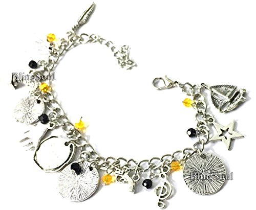 Broadway Musical Hamilton Jewelry - Alexander Charm Bracelet Rise up Friendship Gifts - American Lin-Manuel Miranda Chain Bangle Kids Boys Girls Costumes