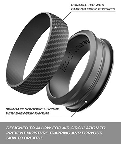 Buy groove life silicone ring men