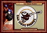 Signed Latos, Mat (San Diego Padres) Mat Latos 2011 Topps Commemorative Patch Unsigned Baseball Card. autographed