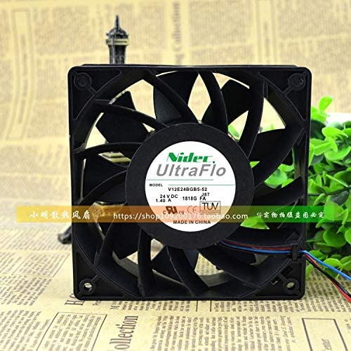 Cytom for V12E24BGB5-52 DC24V 1.40A Original Authentic Japan NIDEC Schneider Inverter Fan