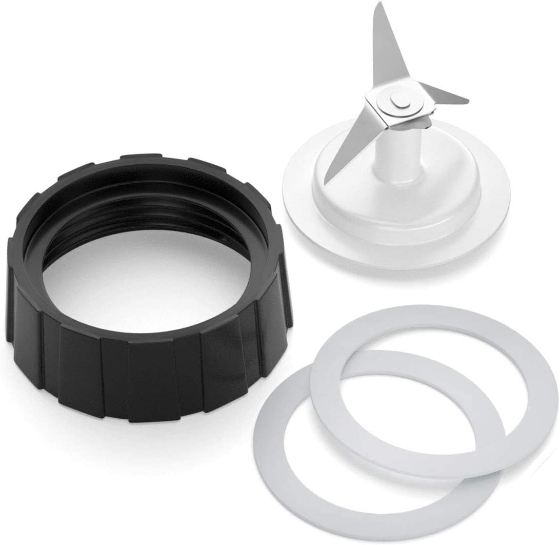 Blender Replacement Parts for Hamilton Beach Blender Blade with Jar Base Cap and 2 O Ring Seal by Aooba