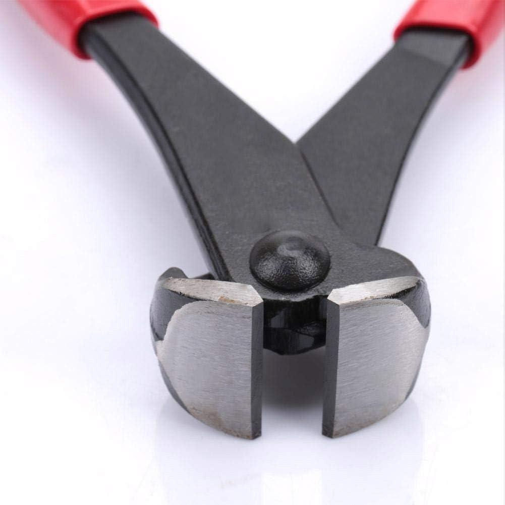 Nagelzange 1 x rote Rei/ßverschluss-Montagezange 18 cm Mehrzweck-Endschneider