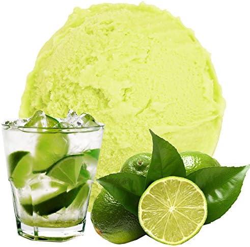 Caipirinha Lime Flavor 1 Kg Gino Gelati Helado en polvo para helado de fruta Helado suave en polvo Helado