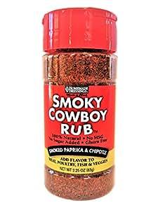Homemade Dressings Smoky Rub, Cowboy, 2.25 Ounce