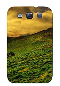 Hijackno Galaxy S3 Well-designed Hard Case Cover Glowing Mushrooms Protector