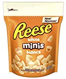 REESE Peanut Butter Cup, Christmas White Chocolate Candy Minis, Stocking Stuffer, 200 Gram