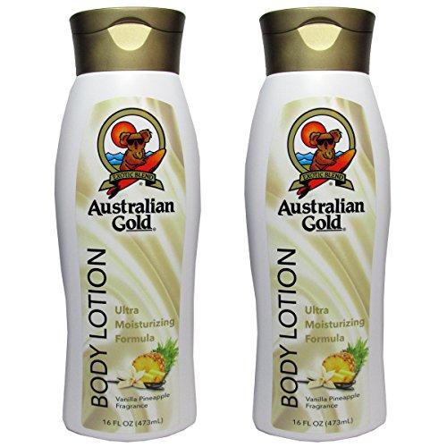 (Australian Gold Vanilla Pineapple Body Lotion – Ultra Moisturizing Formula)