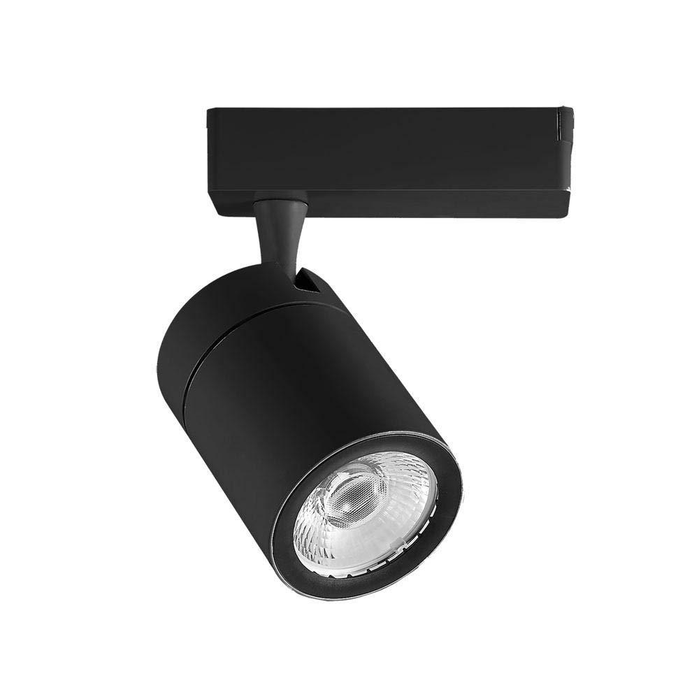 Lámpara LED COB de carril 4 polos 35 W 6400 K 3200lm 24 ° a + ...