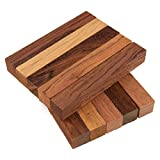 Legacy Woodturning, Dalbergia Wooden Pen Blank, 3/4'' x 3/4'' x 5'', Pack of 10