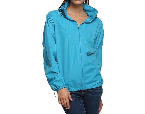 online store 1328a 5c9bd pagacat Windjacke Partner, Damen Herren Leichter Fabric Atmungsaktiv  Wasserdicht Regenjacke Outwear