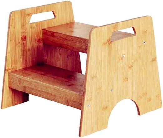 LYQZ Escalera Alta Lavabo para niños Lavabo Reposapiés Taburete para Inodoro Soporte de Flores 33x38x40x15.5x12.5cm: Amazon.es: Hogar