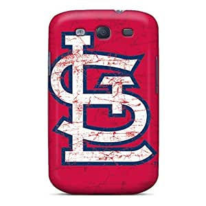 Hot Tpu Cover Case For Galaxy/ S3 Case Cover Skin - St. Louis Cardinals