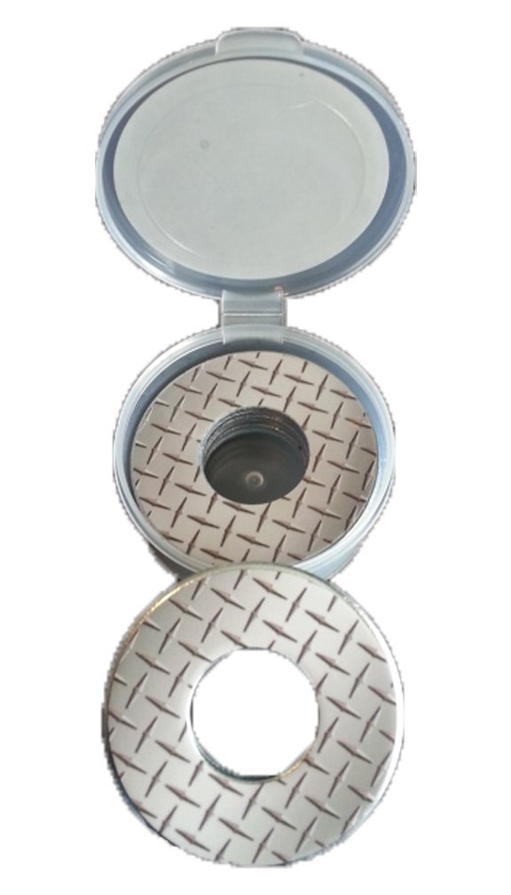 Inkin It Up Diamond Plate Pitching Washers W/Case by Inkin It Up