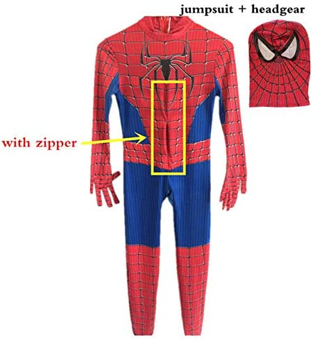 Cosrea Homecoming Spiderman Cosplay Disfraz de Spider para Hombre ...
