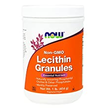 Now Lecithin Granules - Non-Genetically Engineered 1 lbs