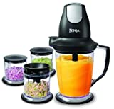 NINJA MASTER PREP FOOD AND DRINK MAKER WITH 3 EXTRA BOWLS Review