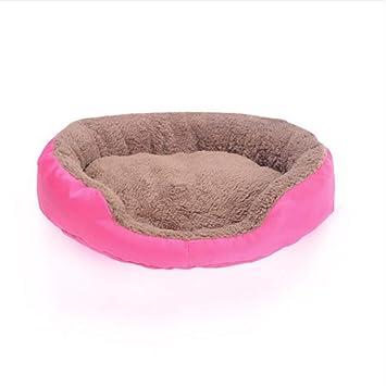 Wuwenw Mascota Perro Estera Almohadilla Cachorro Invierno Cálido Suave Cama Casa para Perro Grande Grande Dormir