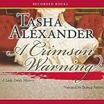 A Crimson Warning | Tasha Alexander