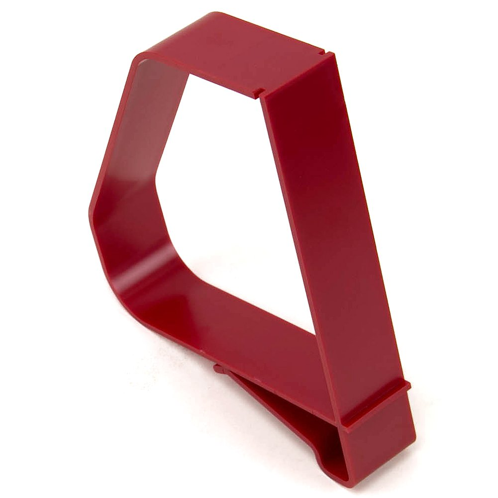 Gressco Clip-On Plastic Book Support 6 1/2 inch Red