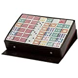 Double 12 Jumbo Colored Dot Dominoes