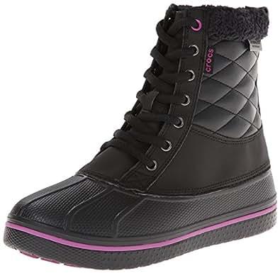 Amazon.com   Crocs Women's AllCast Waterproof Duck Boot