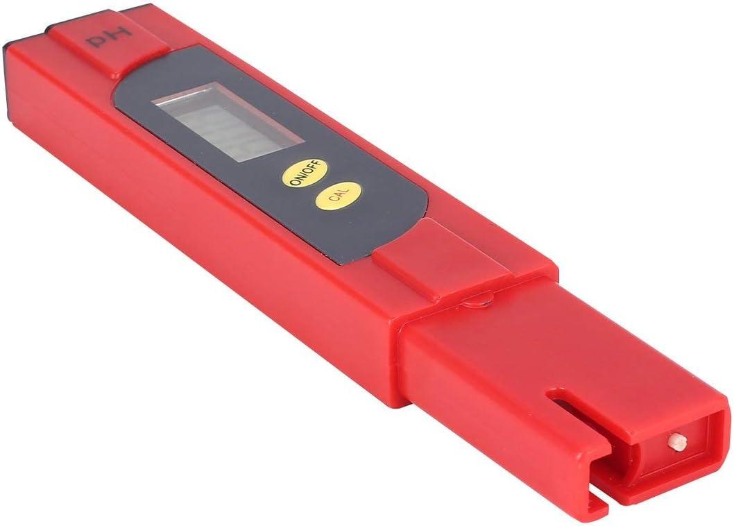 Protable LCD Num/érique PH M/ètre 0-14PH Stylo Testeur Pr/écision 0.01 pour Moniteur de Qualit/é De Leau De Piscine Daquarium Aquaculture Hydroponique