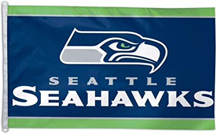 Team Colors One Size WinCraft NFL Seattle Seahawks Flag3x5 Flag