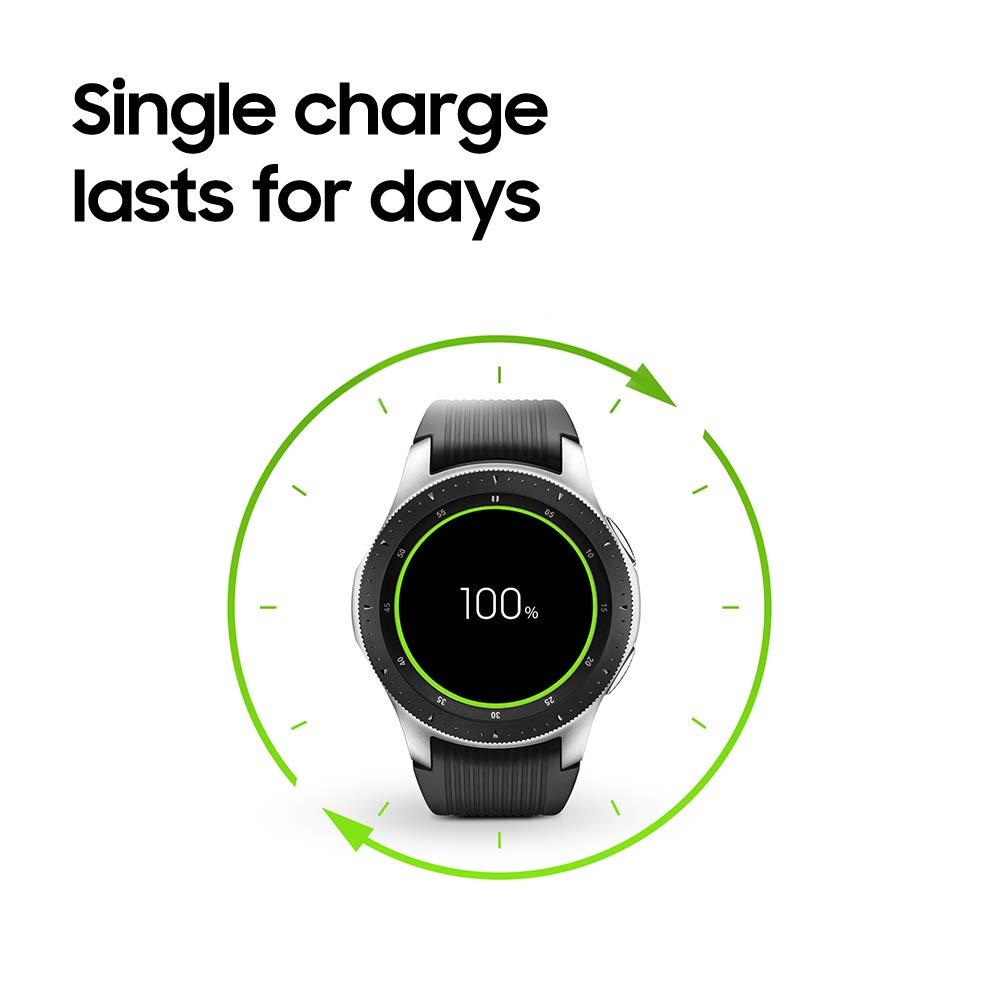 Samsung Galaxy Smartwatch (46mm) Silver (Bluetooth), SM-R800NZSAXAR - US Version with Warranty by Samsung (Image #8)