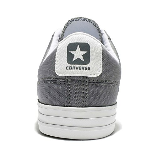 Converse Mens Star Player Bue Canvas Trainers Mason Bianco