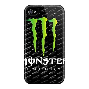Protective Hard Phone Cases For Iphone 6 With Unique Design HD Monster Image CharlesPoirier