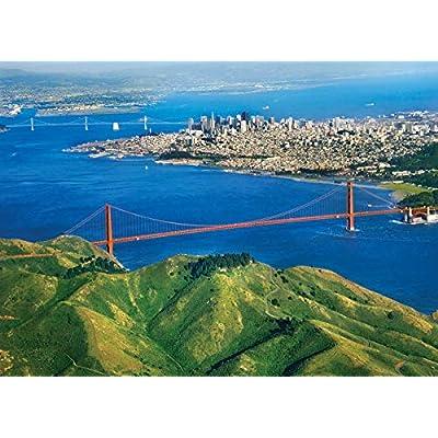 EuroGraphics Golden Gate Bridge, California Puzzle (1000-Piece): Toys & Games