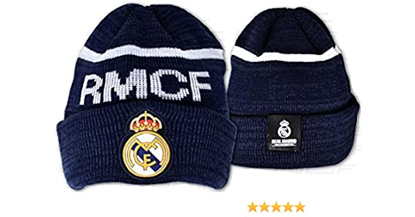 Gorro de invierno del Real Madrid CF Infantil: Amazon.es: Ropa y ...